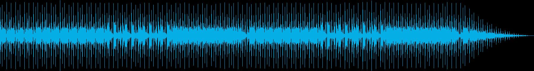 にぎやかなディスコサウンドの再生済みの波形