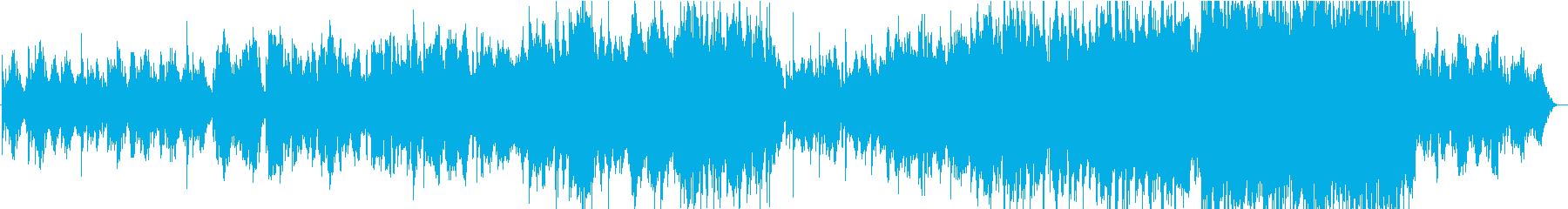 二胡の揺らぎを生かした曲の再生済みの波形