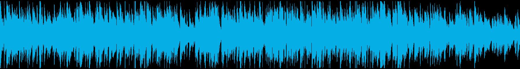 スタイリッシュな紳士のジャズ ※ループ版の再生済みの波形