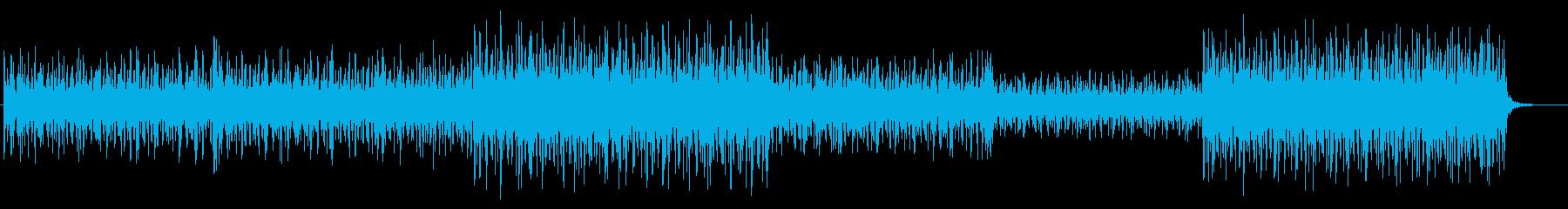 泡の音 水の音 効果音の再生済みの波形