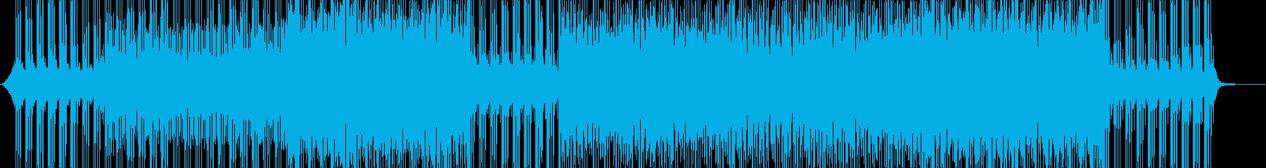 動画-エレクトロ-デジタル-テクノロジーの再生済みの波形