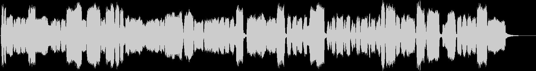 アンビエント教会オルガンのメロディ...の未再生の波形