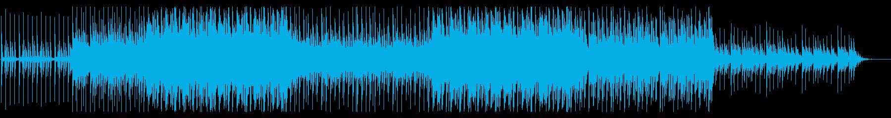 トロピカルハウス風味のBGM(ダブラッカの再生済みの波形