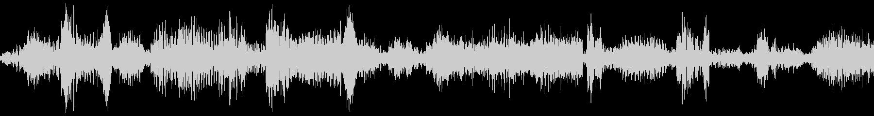 ラジオスキャン4の未再生の波形