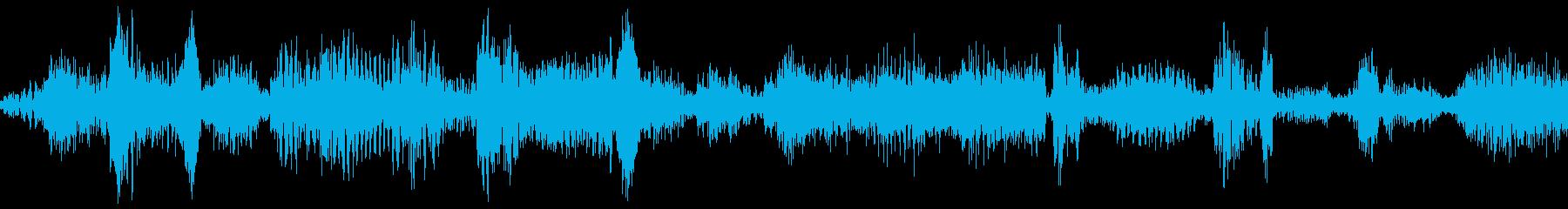 ラジオスキャン4の再生済みの波形