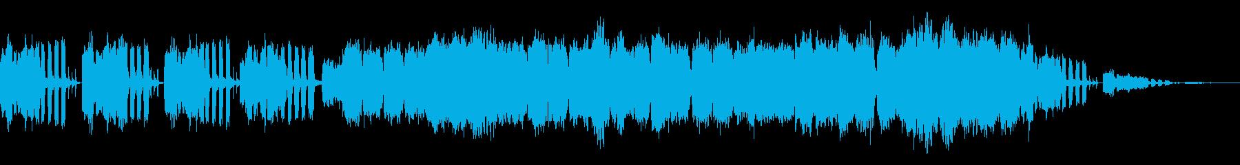 花屋さんをイメージしたアコーディオン曲の再生済みの波形