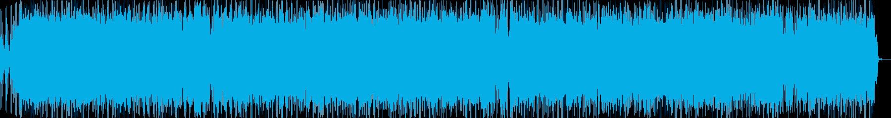 実験的な岩 バックシェイク メタル...の再生済みの波形