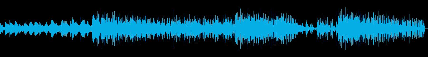 幻想的なエレピの響きが特徴の淡々とした曲の再生済みの波形