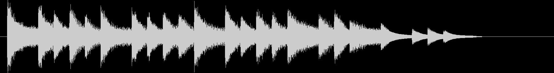 XmasキャロルオブザベルズジングルEの未再生の波形