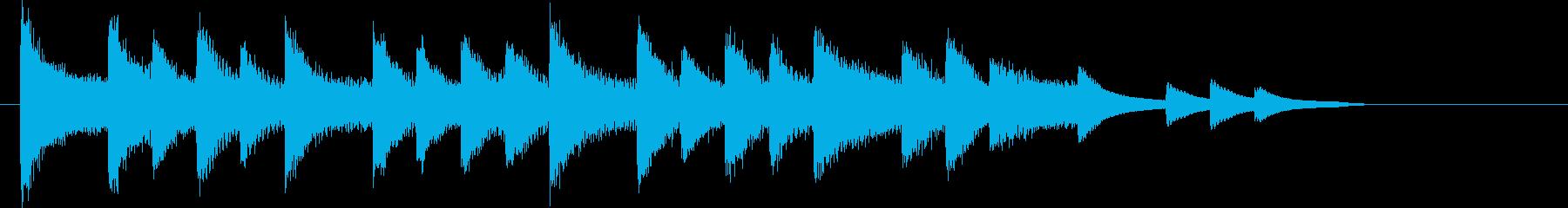 XmasキャロルオブザベルズジングルEの再生済みの波形