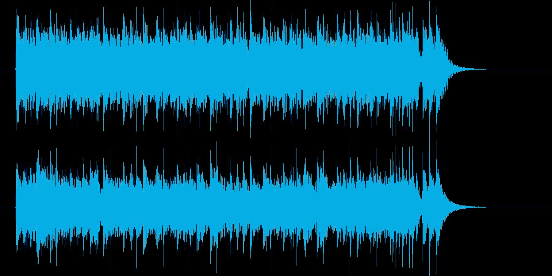 クールで屈託ないポップミュージックの再生済みの波形