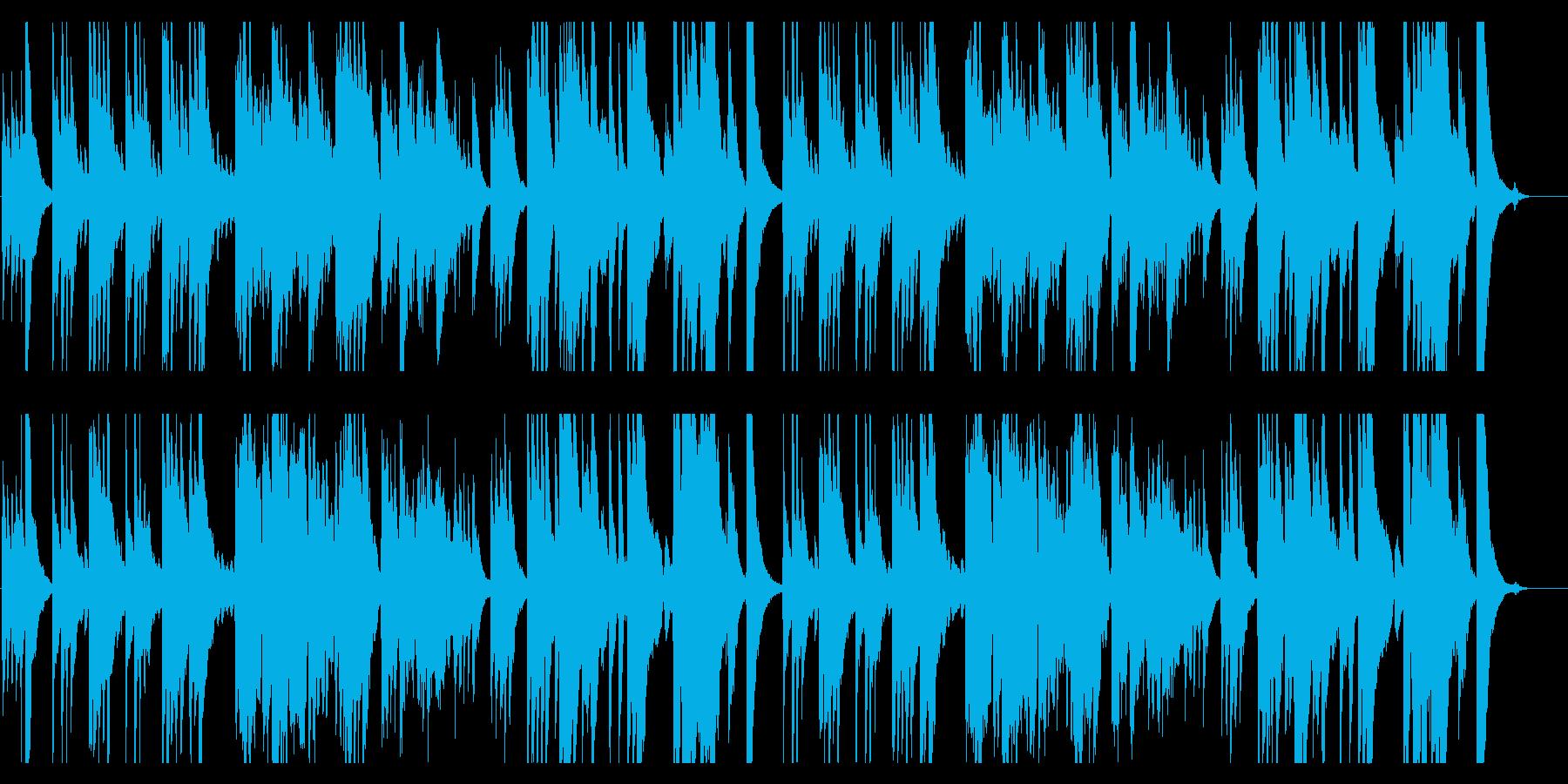 高級和食風、落ち着いた琴の再生済みの波形