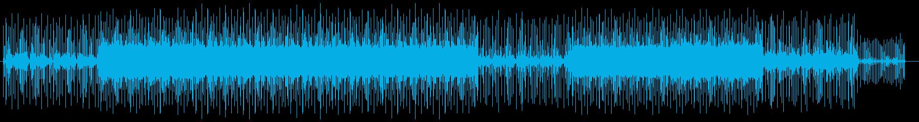 フワフワしたイメージの魅惑的な曲の再生済みの波形