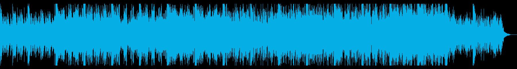 ダークで重々しいインダストリアルの再生済みの波形