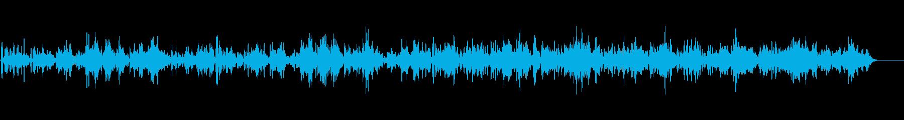 教会に響き渡るバイオリン独奏曲6の再生済みの波形