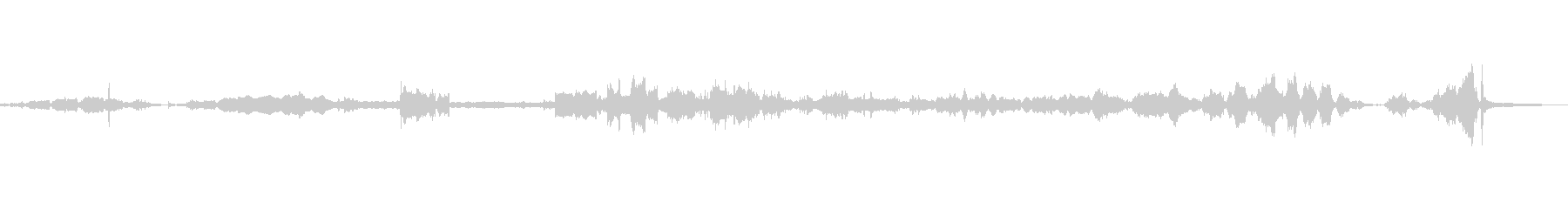 ピアノワイヤードリル、シン、ウィズ...の未再生の波形