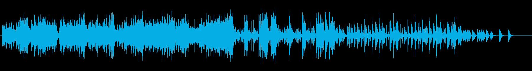 えらい人がご立腹な様子を表したコミカル曲の再生済みの波形