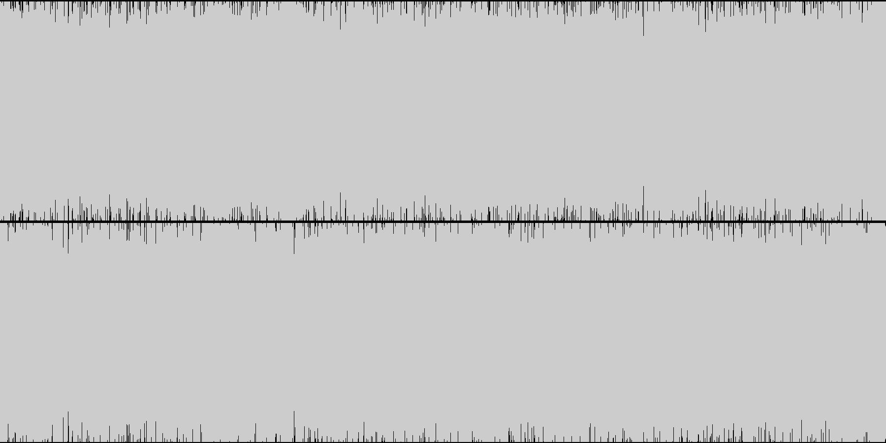 ゲーム トランス 01v和風の未再生の波形