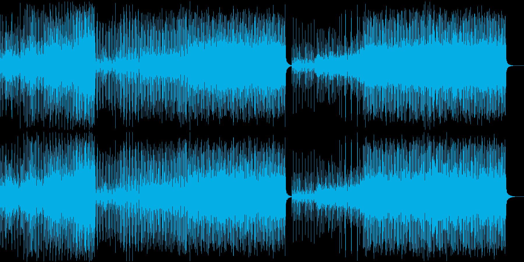モダンで和風なトロピカルハウスの再生済みの波形