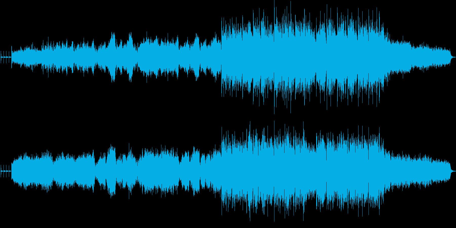 葉加瀬太郎風のラテンリズムのバイオリン曲の再生済みの波形