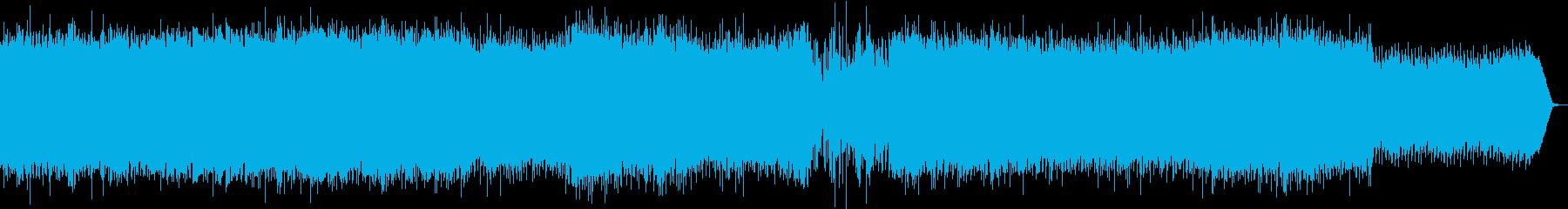 古楽器がメインの焦燥感を感じる逃走BGMの再生済みの波形