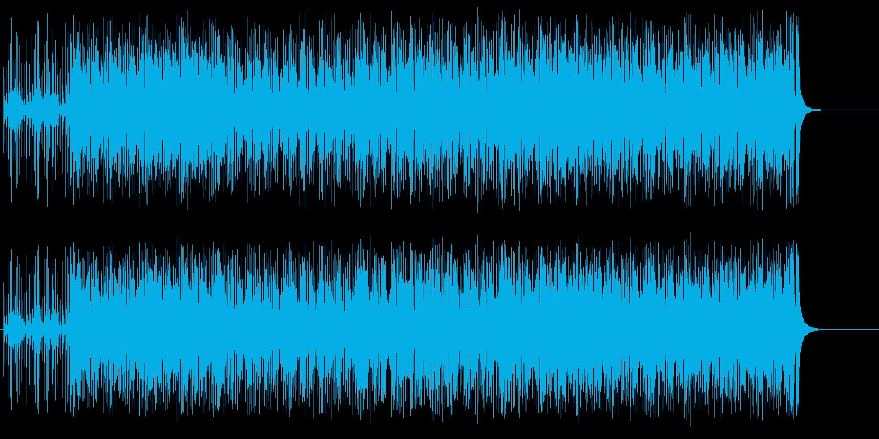 一般公募物、コンテスト告知等のBGMの再生済みの波形