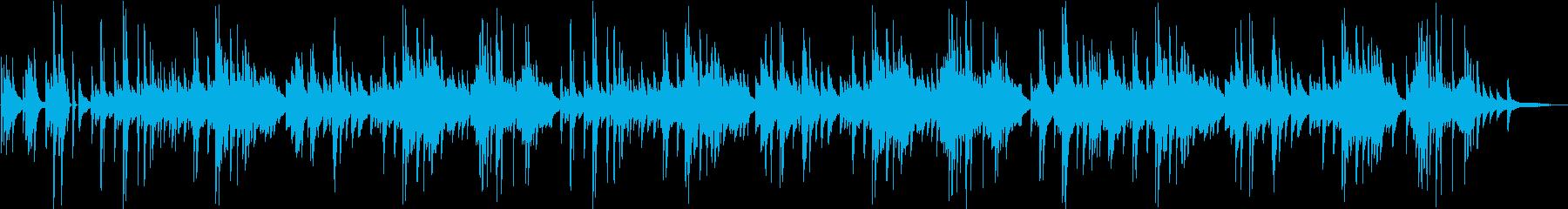 「シューベルトの子守唄」エモいチルピアノの再生済みの波形