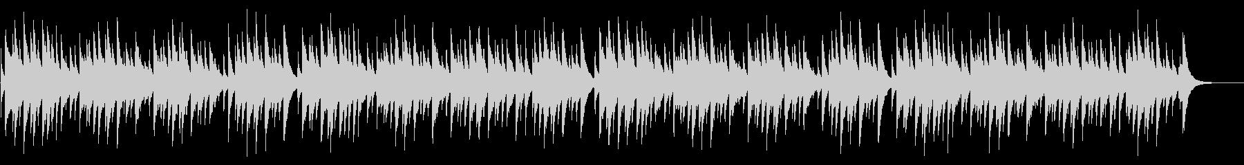 蛍の光 72弁オルゴールの未再生の波形