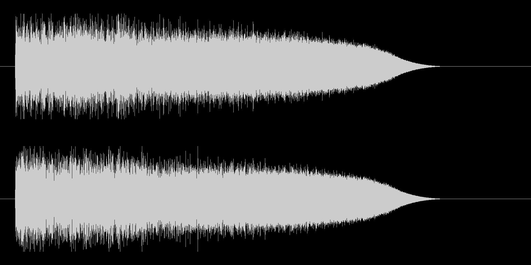 レーザー音-86-3の未再生の波形