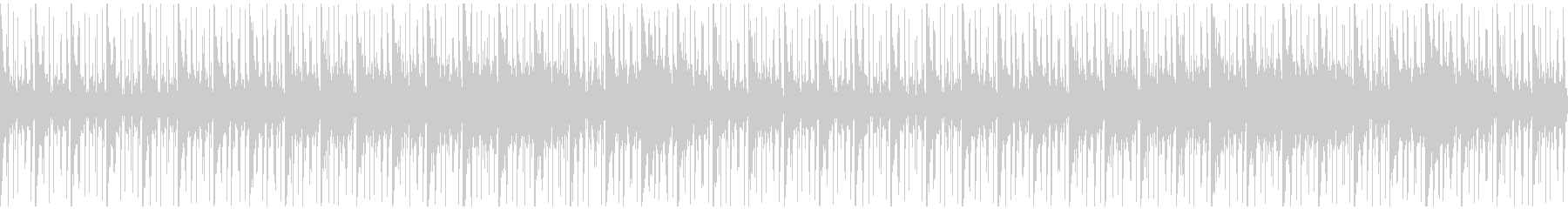 ピアノとノイズ音のヒーリングアンビエントの未再生の波形