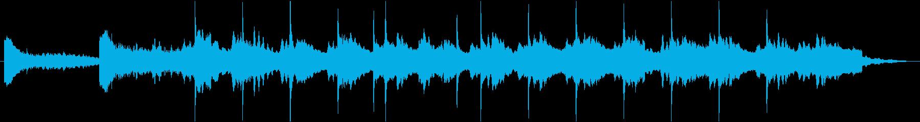 自然の大きさを感じる 無機質なBGM の再生済みの波形