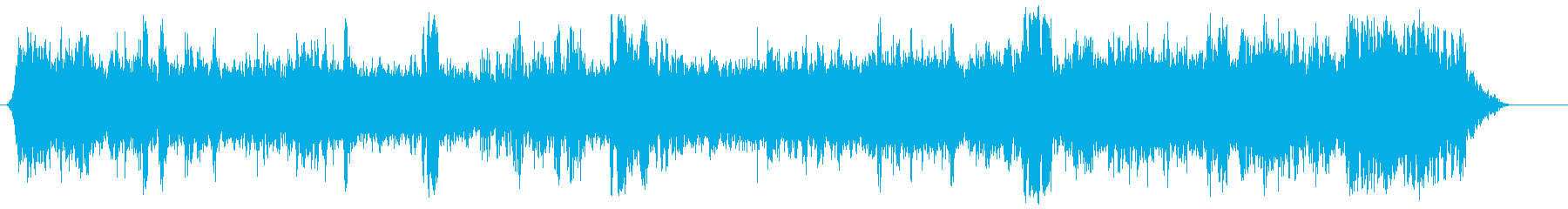 atmosphere of the Ramblas street in Barcelona's reproduced waveform