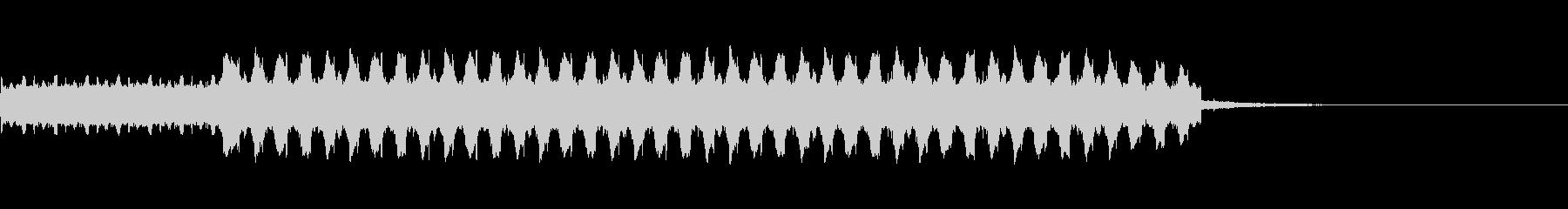 自主規制音~ピヨピヨ~の未再生の波形
