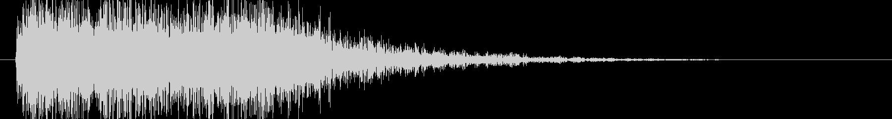 中世 ジングルオーケストラネガティブ01の未再生の波形