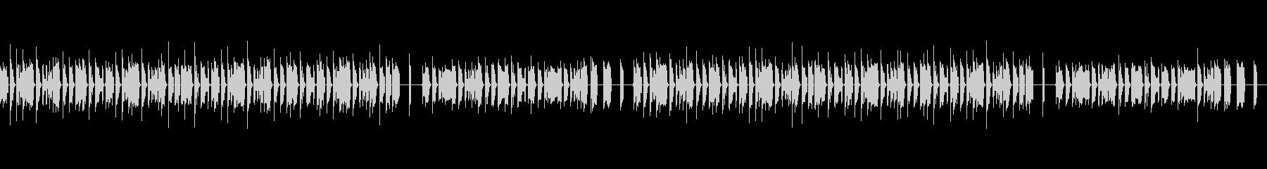 のどかな雰囲気のファミコン風BGM・1の未再生の波形
