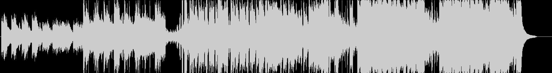 しっとりピアノのエレクトロニカ曲です。の未再生の波形