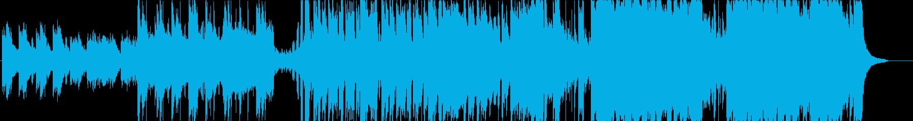 しっとりピアノのエレクトロニカ曲です。の再生済みの波形