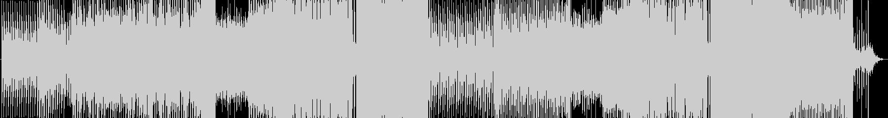 近未来な雰囲気の切ないEDMの未再生の波形