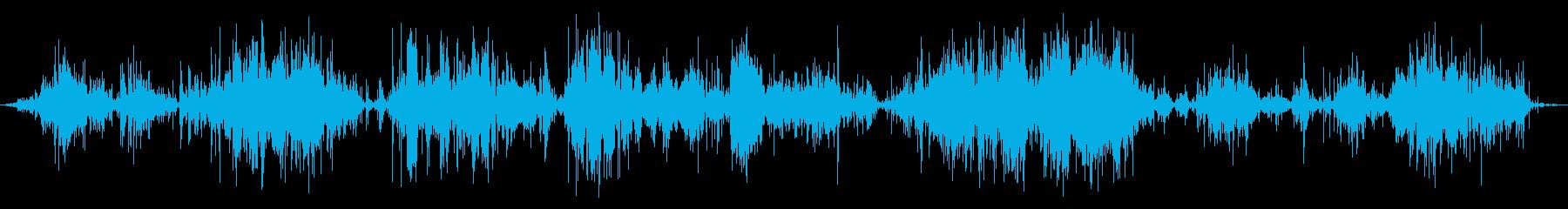 重水渦とうがいの再生済みの波形