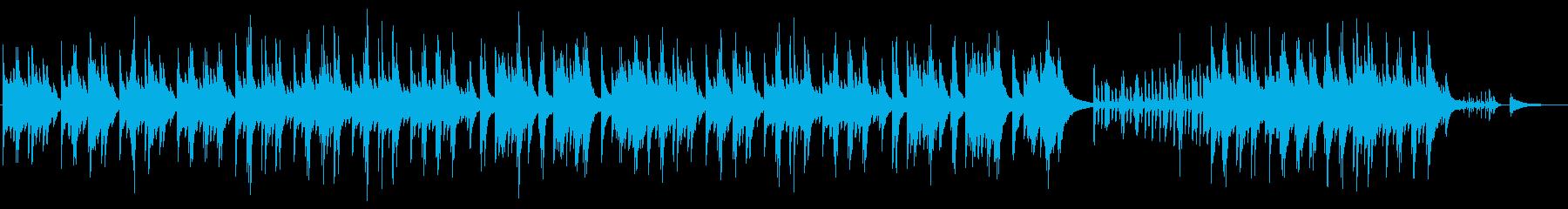 晩秋をイメージした切ないピアノ曲の再生済みの波形