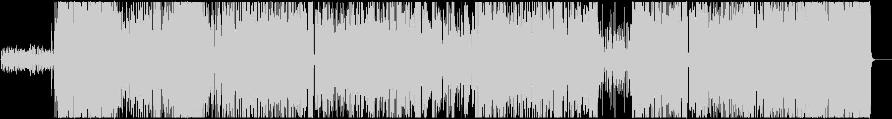 オシャレなピアノトリオ風ジャズワルツの未再生の波形