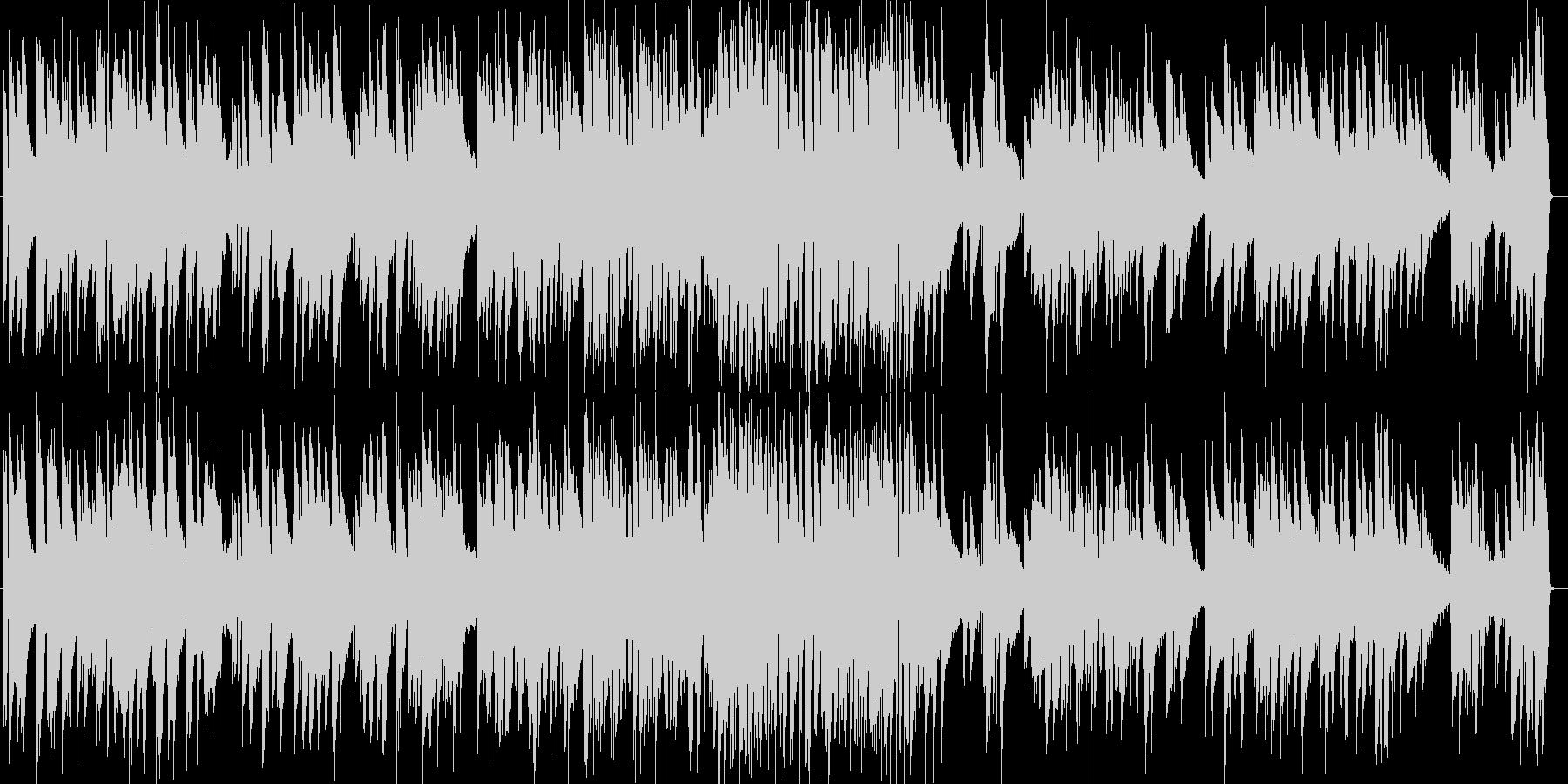 唱歌のピアノトリオの未再生の波形