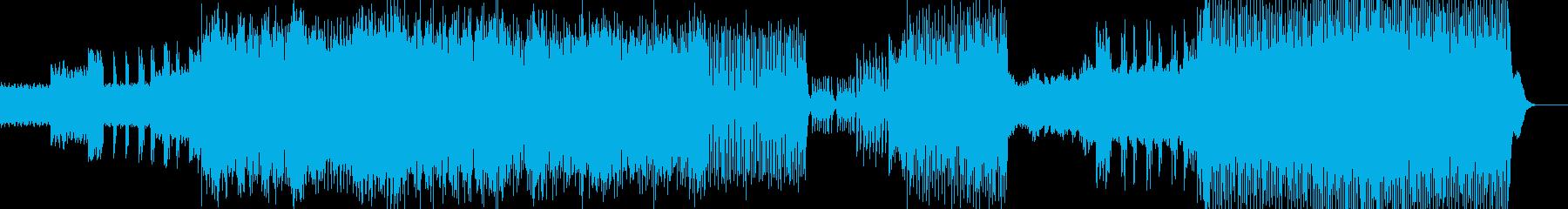 岩戸音階 相撲バトル ロッテルダムテクノの再生済みの波形