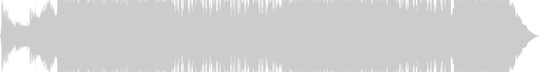 Grooveプロモーションミュージックの未再生の波形
