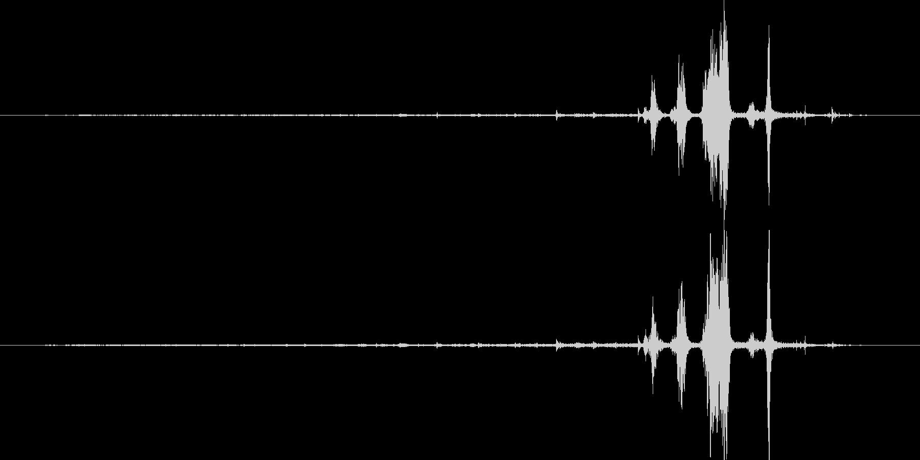 ヴィンテージ1915エレクトリック...の未再生の波形