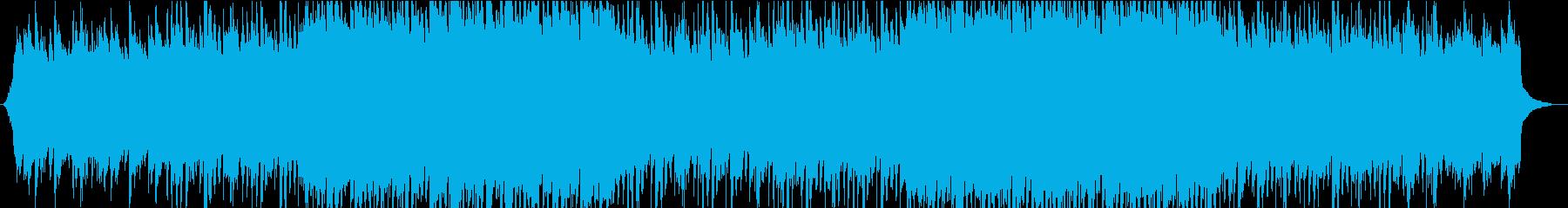 ピアノとギターが印象的なコーポレートの再生済みの波形