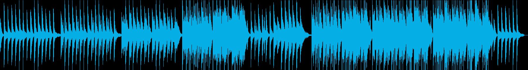 ピアニカとチェロの生演奏による美しい曲の再生済みの波形