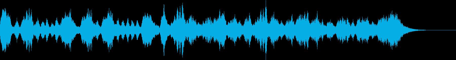 アイネ クライネ ナハトムジーク  冒頭の再生済みの波形