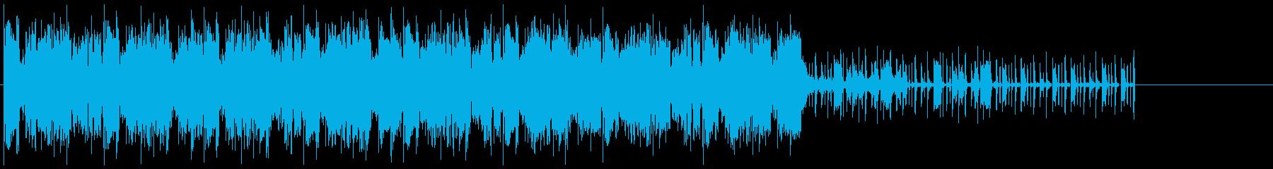 大きく遅いテンポのヒップホップで、...の再生済みの波形