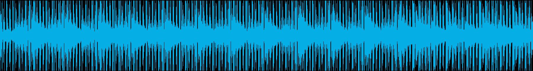日常・シュミレーション・考え事のシーンの再生済みの波形